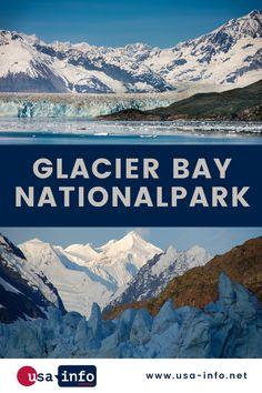 Glacier Bay Nationalpark ist ein Wunderwerk der Natur. Die Gletscher sind mindestens 4000 Jahre alt und von einem großen wissenschaftlichen Wert. Allgemein ist bekannt, das Alaska nicht gerade ein Tropengebiet ist, die wenigsten wissen jedoch, dass es sogar in diesem kalten Teil der USA Regenwälder gibt. John Muir, British Columbia, Nationalparks Usa, Vancouver, Fjord, Bryce Canyon, Mount Everest, Alaska, Mountains