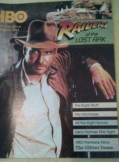 1984 November HBO Guide HARRISON FORD Raiders of the Lost Ark Home Box Office  | Entertainment Memorabilia, Television Memorabilia, Merchandise & Promotional | eBay!