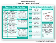 Image result for timewarpwife daily chore chart