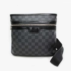 Louis Vuitton Thomas Damier Graphite Cross body bags Black Canvas N58028