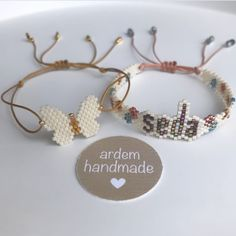 Diy Bracelets Patterns, Diy Bracelets Easy, Bead Loom Bracelets, Bracelet Crafts, Beaded Jewelry Patterns, Handmade Bracelets, Handmade Jewelry, Seed Bead Jewelry, Bead Jewellery