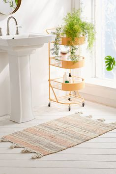 Shop Anza Knotted Trim Dye-Stripe 2x3 Rug at Urban Outfitters today. We carry all the latest styles, colours and brands for you to choose from right here.