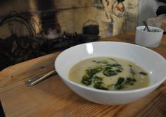 Celeriac Soup - take advantage of the lovely taste of celeriac and a range of seasonal vegetables with this hearty warming soup.