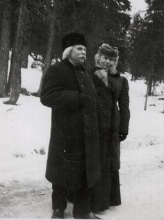 Edvard and Nina Grieg, Oslo, 1903 -nd