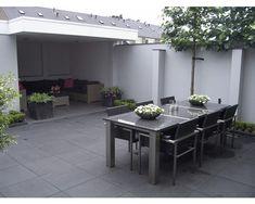 EXCLUTON Terrastegel nero 60x60x4 cm kopen bij HORNBACH Outdoor Furniture Sets, Outdoor Decor, Tiles, Home Decor, Backyard Ideas, Lawn And Garden, Room Tiles, Decoration Home, Room Decor