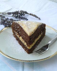 Torta al cacao con crema di ricotta