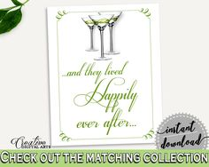 Happily Ever After Bridal Shower Happily Ever After Modern Martini Bridal Shower Happily Ever After Bridal Shower Modern Martini ARTAN #bridalshower #bride-to-be #bridetobe