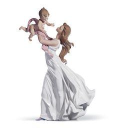 01006858  MY LITTLE SWEETIE   Issue Year: 2002  Sculptor: Juan Carlos Ferri Herrero  Size: 46x29 cm
