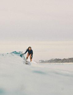 Slides with Lauren Hill @BillabongWomens photo by Ming Nomchong