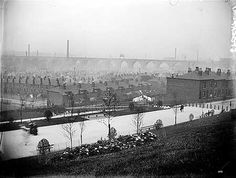 Railway viaduct, Stockport, Manchester 1903