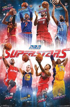 NBA Superstars Sports Poster Poster at AllPosters.com