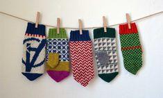 Cirkusvantar i tre storlekar – Dela dina vantar! Mittens Pattern, Knit Mittens, Knitted Gloves, Craft Wedding, Knitting Accessories, Craft Tutorials, Baby Knitting, Knit Crochet, Knitting Patterns
