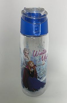 DISNEY FROZEN ELSA ANNA AND OLAF 25FL OZ. WATER BOTTLE @ niftywarehouse.com #NiftyWarehouse #Disney #DisneyMovies #Animated #Film #DisneyFilms #DisneyCartoons #Kids #Cartoons