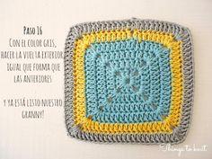Irene del blog Things to knit  ha vuelto a hacer un maravilloso tutorial de ganchillo para aprender a hacer granny squares. Ella ha usa...