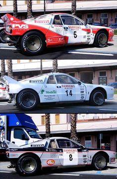 Lancia 037 rally cars
