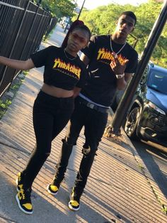 just fucking fllw me Couple Goals Relationships, Relationship Goals Pictures, Couple Relationship, Freaky Relationship, Black Couples Goals, Cute Couples Goals, Matching Couple Outfits, Matching Couples, Boyfriends