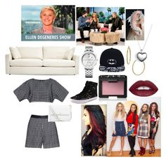 """""""On Ellen w/ Little Mix (will do d later)"""" by creative-with-fashion ❤ liked on Polyvore featuring Bony Levy, Tory Burch, Pandora, Rebecca Minkoff, NARS Cosmetics, Tommy Hilfiger, women's clothing, women, female and woman"""