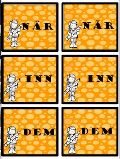 FredagsKilden: NORSK - Undervisningsmateriell 1-17 Bingo, Playing Cards, Snoopy, Games, Character, Toys, Cards, Game Cards, Game