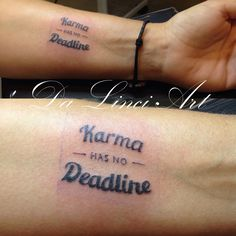 Writing Tattoo - Made by linda Roos - Da Linci Art, Zwijndrecht The Netherlands…