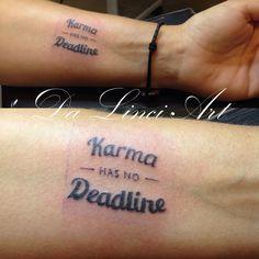 Writing Tattoo - Made by linda Roos - Da Linci Art, Zwijndrecht The Netherlands…