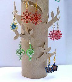 recycler le rouleau de papier toilette, rangement de bijoux créatif Plus