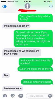 cool Hilarious Conversation - Listen Linda ( 5+ Pictures)