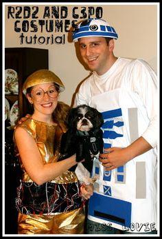 R2D2 and C3PO costume tutorial