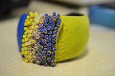 Polymer clay bracelet made on my workshop Polymer Clay Bracelet, Bracelet Making, Rings For Men, Workshop, Bracelets, Jewelry, Necklaces, Bangle Bracelets, Ear Jewelry