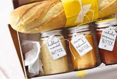 Knoblauch-Mandel-Butter & Curry-Erdnuss-Butter