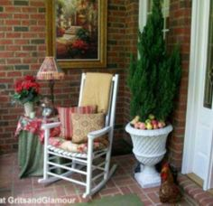 21 Rosemary Lane: Front Porch Before and After...