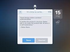 Writing Ui Design, Free Design, Dieter Rams, Ui Inspiration, Writing Resources, App Ui, User Interface, Pattern Design, Cool Designs