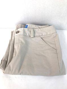 Dockers Women Nina Pant Classic Fit Tan Slacks Casual Pants Medium #DOCKERS #CasualPants