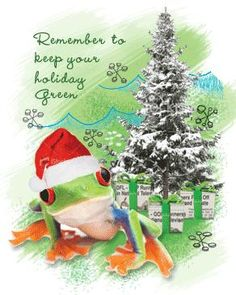 Holiday Pictures, Go Green, Grinch, Happy Holidays, Christmas Ornaments, Frogs, Holiday Decor, Fun, Home Decor