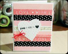 erica rose : Washi Tape Card