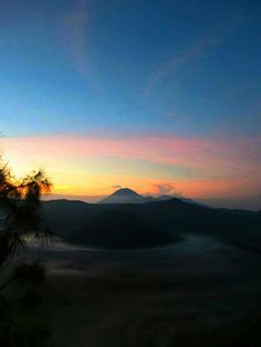 Semeru-Bromo mountain view