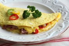 Prosciutto and Onion Omelette @allrecipes #MyAllrecipes #AllrecipesFaceless