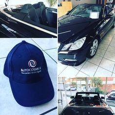 Cappellino in omaggio per i nostri clienti che hanno una Mercedes-Benz cabriolet.