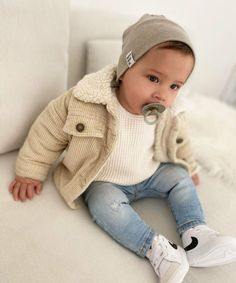 Cute Baby Boy Outfits, Little Boy Outfits, Toddler Boy Outfits, Cute Baby Clothes, Toddler Boy Fashion, Little Boy Fashion, Outfits Niños, Foto Baby, Baby Swag