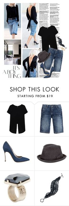"""""""Equilíbrio"""" by reginakos ❤ liked on Polyvore featuring Roberto Cavalli, Casadei, Comme des Garçons, Chanel, 2028, Lane Bryant, SimpleOutfits, CasualChic, boyfriendstyle and DenimStyle"""