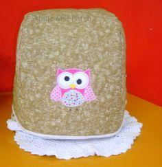 Capa maquina pão  Britania  MultiPane em oxford  ou algodão cru  sem forro com aplicações patchcolagem temas e cores de sua preferencia. R$ 58,00