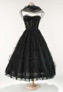 Classic Chanel. A little black dress is a must in every girl's closet.