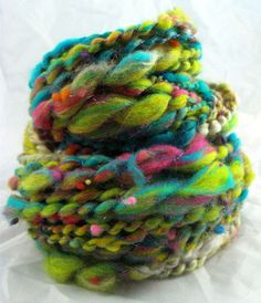 hand spun yarn by UrbanGypZ Artisan Yarn