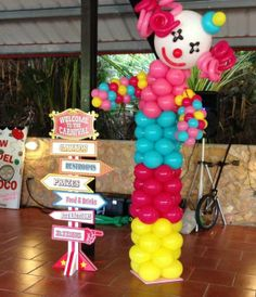 Amazing Balloons clown