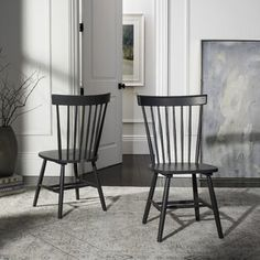 """Rosdorf Park Vestavia 26"""" Counter Stool   Wayfair Solid Wood Dining Chairs, Dining Chair Set, Dining Room Chairs, Side Chairs, Office Chairs, Casual Dining Rooms, Modern Farmhouse Style, Country Farmhouse, Industrial Farmhouse"""