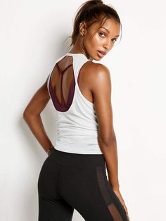 09384884e493e Twist Open-back Tank - Victoria Sport - Victoria s Secret