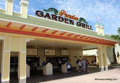 Paradise Garden Grill in Disneyland