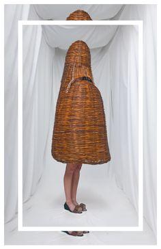 Femke Agema - seen in the fashion biënniall at Arnhem, Netherlands, july 2013