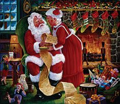 Image detail for -santa and mrs claus
