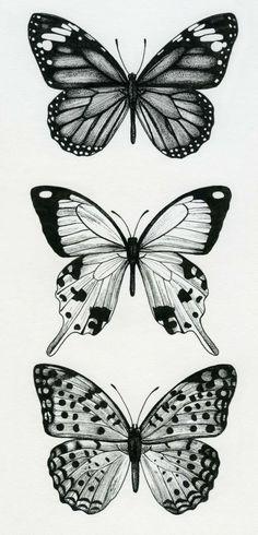 Mini Tattoos, Trendy Tattoos, Leg Tattoos, Small Tattoos, Sleeve Tattoos, Cool Tattoos, Tatoos, Butterfly Thigh Tattoo, Butterfly Drawing