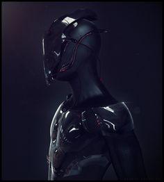 Trooper Picture  (3d, sci-fi, character, cyborg, trooper)